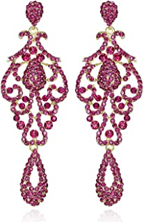 Best chandelier pink earrings Reviews