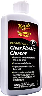 Meguiar's M1708 Mirror Glaze Clear Plastic Cleaner