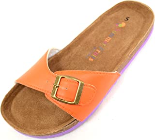 Absolute Footwear Ladies/Women's Slip On Summer/Holiday/Beach Sandals/Shoes