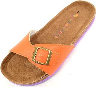 Absolute Footwear Ladies/Women's Slip On Summer/Holiday/Beach Sandals/Shoes