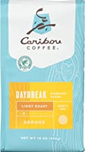 Caribou Coffee, Daybreak Morning Blend, Ground, 12 oz. (2 Pack), Breakfast Blend of Light Roast Coffee Beans from the Americas & East Africa, Bright Body with A Smooth Finish; Sustainable Sourcing