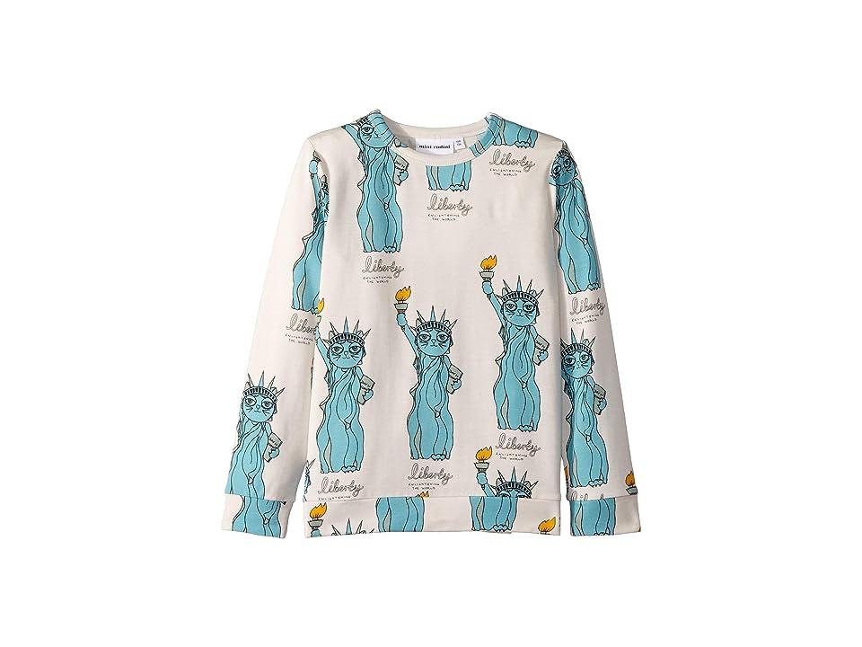 mini rodini - mini rodini Liberty All Over Print Long Sleeve Tee