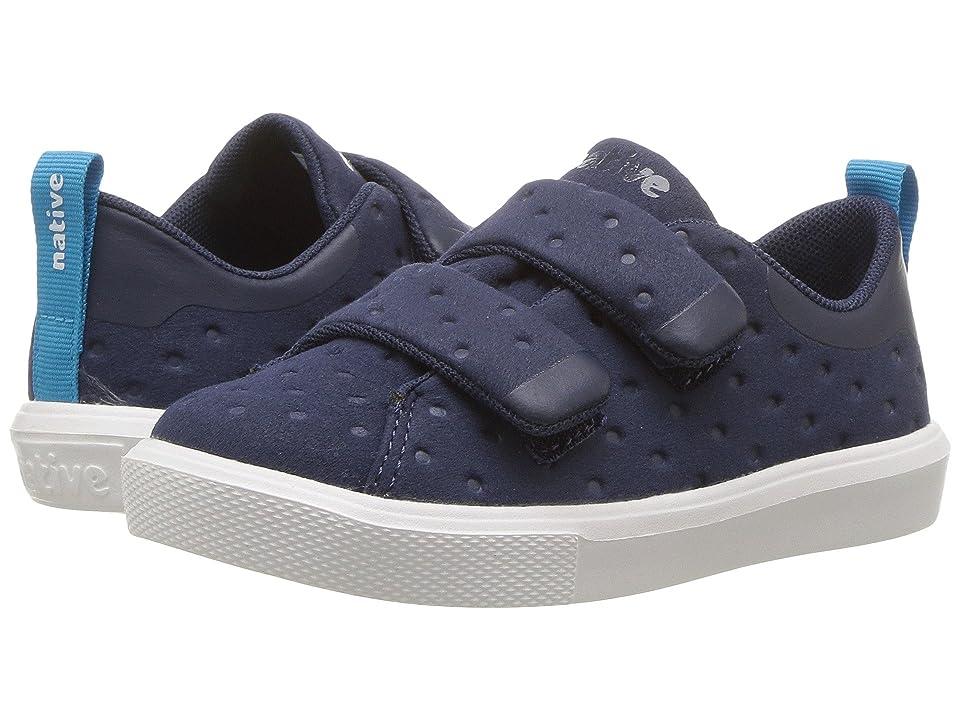 Native Kids Shoes Monaco HL (Toddler/Little Kid) (Regatta Blue/Shell White) Kids Shoes