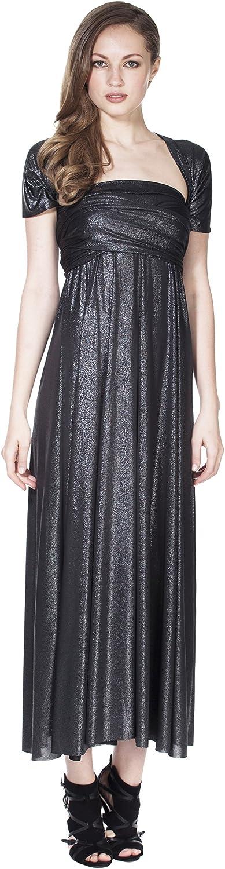 VON RONEN Women's Long Maxi Dress Convertible Wrap Cocktail Gown Multi Way Bridesmaid Dresses One Size Fits 0-12
