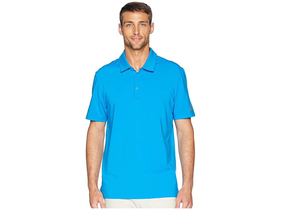 adidas Golf Ultimate Solid Polo (Bright Blue) Men
