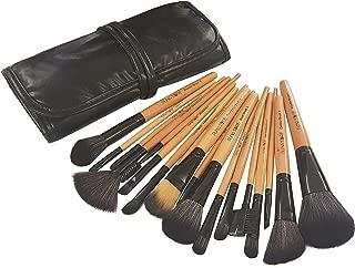 Puna Store 18 Piece Makeup brush Set (Bamboo)