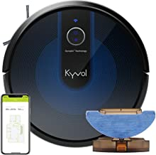 Kyvol Cybovac E31 Robot Vacuum, Sweeping & Mopping Robot Vacuum Cleaner with 2200Pa Suction, Smart Navigation, 150 mins Ru...