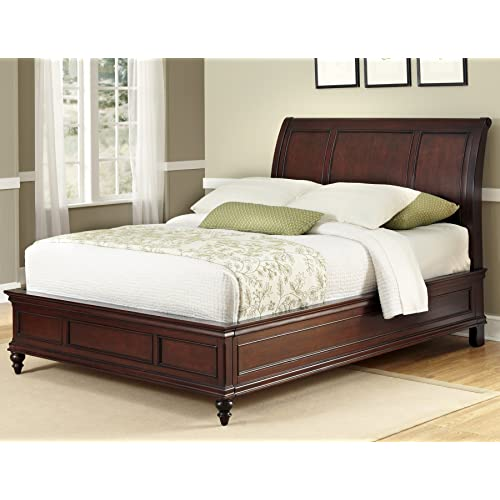 King Size Sleigh Bed Frame Amazon Com