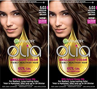 Best garnier olia dark brown before and after Reviews