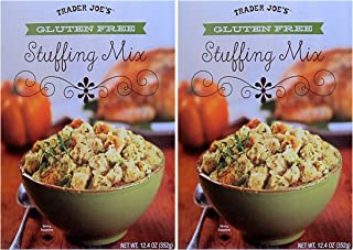 Trader Joe's Gluten Free Stuffing Mix, 12.4 Ounce (Pack of 2)
