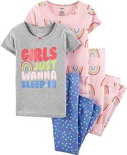 Carters Girls 4 Pc Cotton 371g082