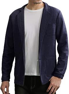 TOPSKY メンズ ジャケット カジュアル ニットトップス テーラード 細身 ストレッチ ジャケット 秋冬