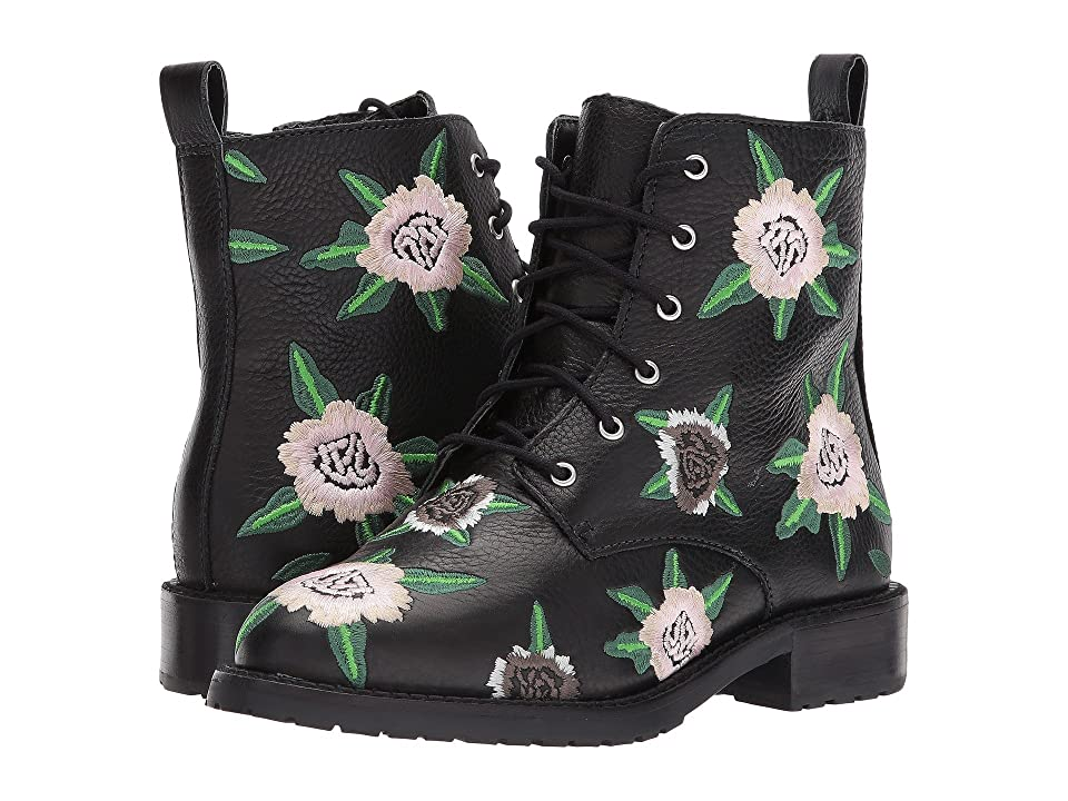 Rebecca Minkoff Gerry Embroidery (Floral\Black Embroidery\Lamba) Women