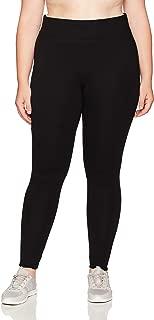 Marc New York Performance Womens MX7P3831 Long Ponte Legging with Chevron Seams, Plus Size Leggings