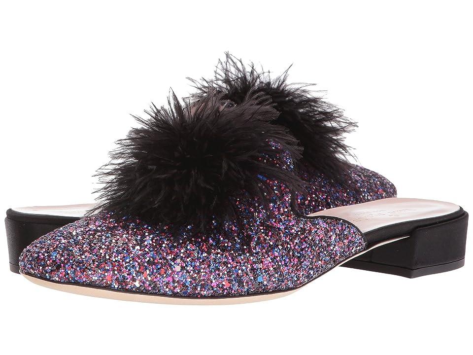 Kate Spade New York Gala (Purple Glitter/Black Satin) Women