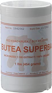 Tongkatali.org's Butea superba Extract, 1 lbs (454 Grams)