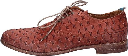 MOMA Chaussures élégantes Femme Femme Daim Marron  nous prenons les clients comme notre dieu