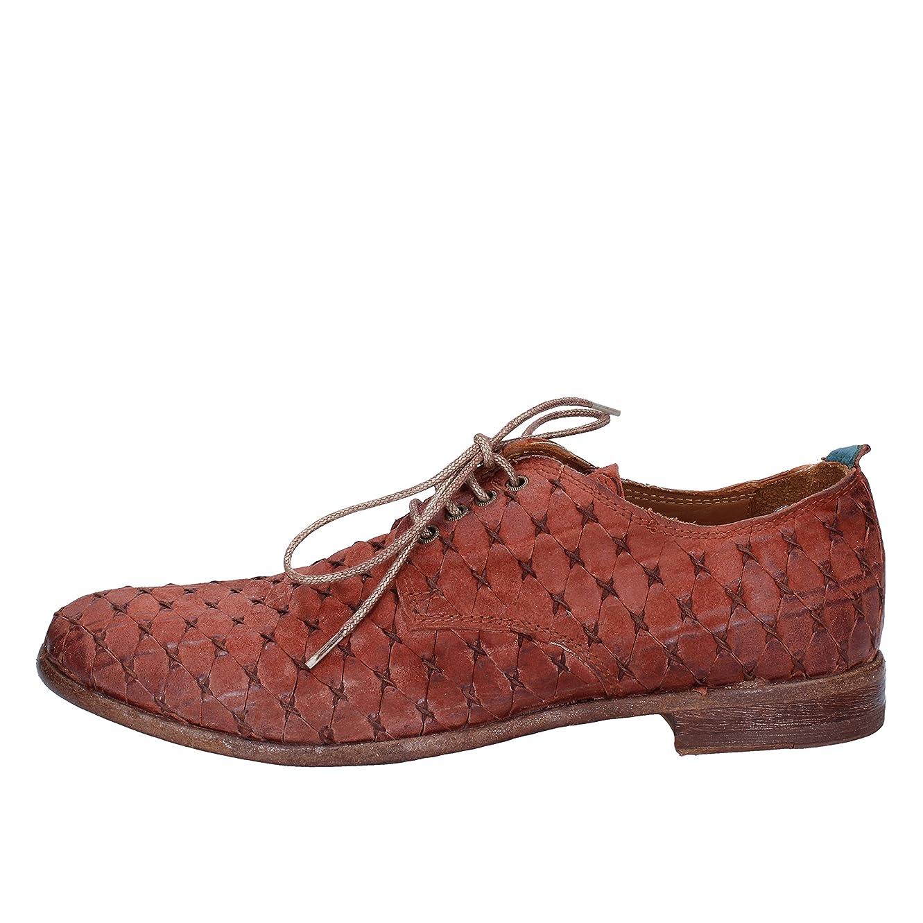 頬下貨物[MoMA] 古典的な女性の靴 レディース スウェード ブラウン