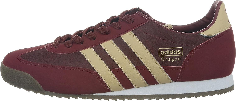 adidas Drafon, Sneakers Basses homme - Rouge - rouge foncé, 29 ...