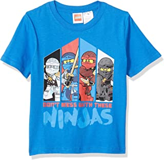 LEGO Boys Boys Ninjago Don't Mess with The Ninja's T-Shirt Short Sleeve T-Shirt