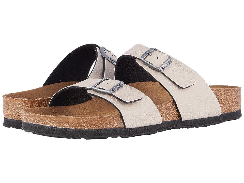 Birkenstock Sydney Vegan (Stone Pull Up Birko-Flortm) Women's Sandals