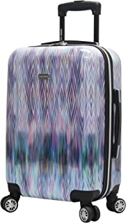 Steve Madden 20 Inch Carry On Luggage Collection - Scratch Resistant (ABS + PC) Hardside Suitcase - Designer Lightweight B...