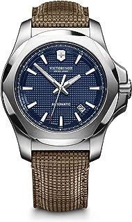 Victorinox - Hombre I.N.O.X Mechanical - Reloj automático mecánico de Acero Inoxidable/Cuero de fabricación Suiza 241836