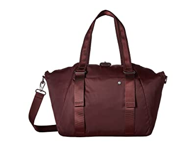 Pacsafe Citysafe CX Anti-Theft Oversized Tote (Merlot) Tote Handbags