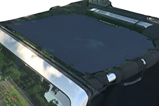 Alien Sunshade Jeep Sunshade Mesh Top Jeep Wrangler 2-Door JK 4-Door JKU 2007-2018 - 10 Year Warranty Front Jeep Top Navy