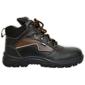 Allen Cooper AC 1170 Hi-Ankle Safety Shoe (Size 10 UK/India)