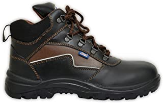 Allen Cooper AC 1170 Hi-Ankle Safety Shoe (Size 8 UK/India)