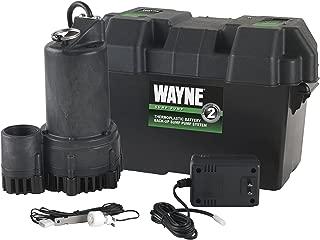 WAYNE ESP25 12 Volt Battery Back-Up Sump Pump System with Audible Alarm