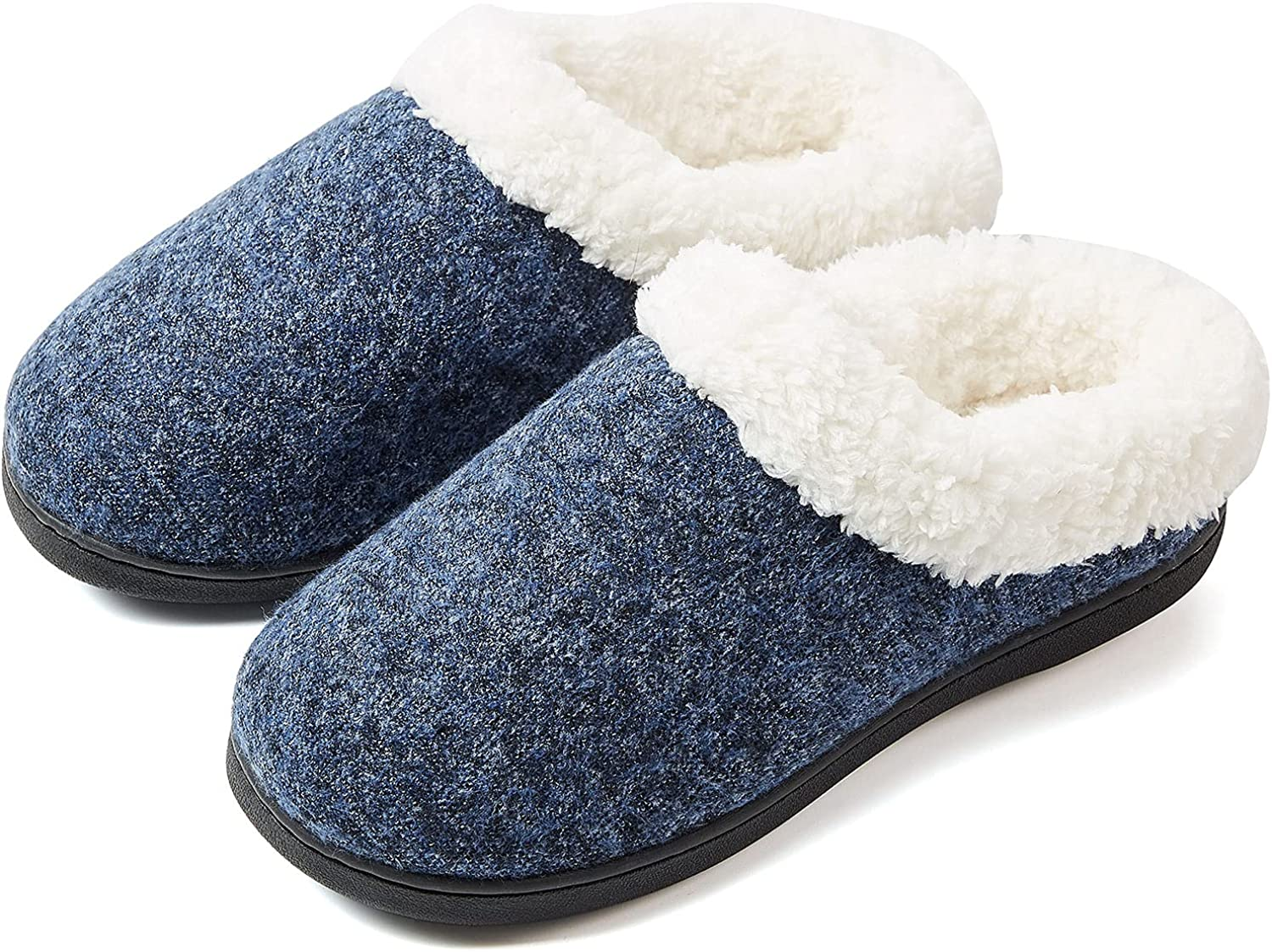 Tatemi Women's Cozy Memory Los Angeles Mall Foam Max 61% OFF Slippers House Outdoor Indoor