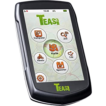 Teasi One2 - GPS para Bicicleta, Color Negro: Amazon.es: Deportes ...