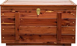 Amish Handmade Real Wood Cedar Hope Blanket Chest