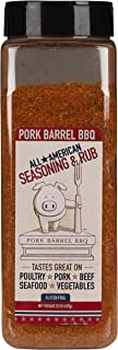 Pork Barrel BBQ All American Seasoning Mix, Dry Rub Perfect for Chicken, Beef, Pork, Fish and More, Gluten Free, Preservat...