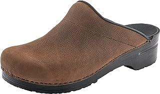 Sanita Karl Oil Mule Clog | Original Handmade Flexible Leather Clog for Men