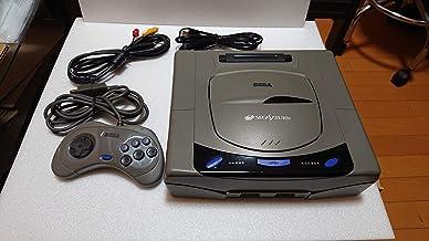 Video Game Sega SAturn ( Sem Controle ) + 1 jogo sonic+ cabos