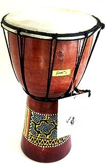 Djembe Drum African Bongo Drum Hand Drum -Jive Brand Professional Sound, Handpainted