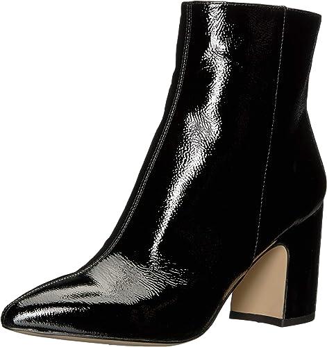 Sam Sam Edelman Wohommes Hilty 2 Fashion démarrage, noir Patent, 6 M US