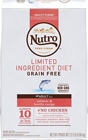 Nutro Limited Ingredient Diet Adult Grain Free Dry Dog Food | Chewy