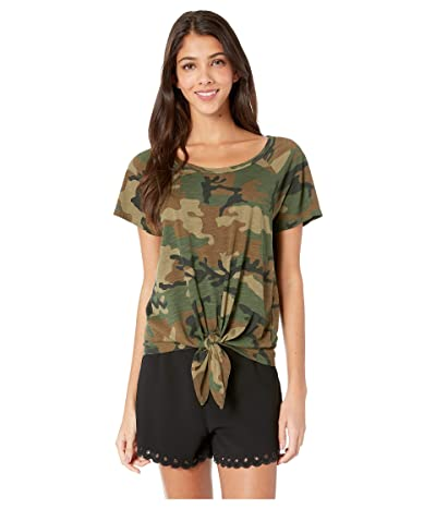 Sanctuary Lou Tie Tee (Love Camo) Women