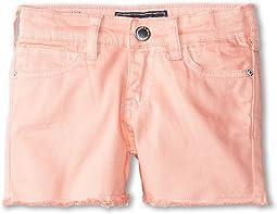 Jeans Shorts in Coral (Toddler/Little Kids/Big Kids)