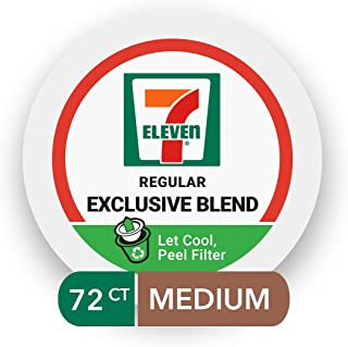 7-Eleven Exclusive Blend Coffee Single-Serve RealCup Pods, 72 Count (6 boxes of 12 Pods)