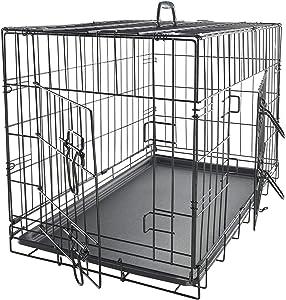 Paws & Pals Double-Door Dog Crate