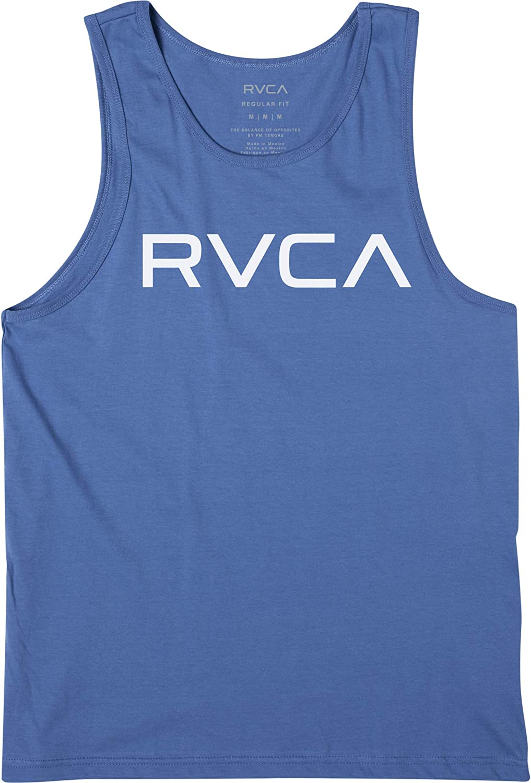 RVCA Boys' Short Sleeve Graphic Tank Top