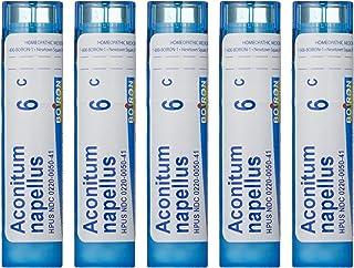 Boiron Aconitum Napellus 6C, (Pack of 5), Homeopathic Medicine for Fever