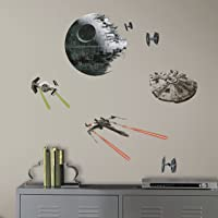 RoomMates Star Wars Episode VI Spaceships Wall Decals