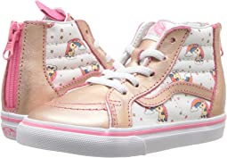 5b2f7f00eb (Unicorn Rainbow) Pink Lemonade True White. 105. Vans Kids. Sk8-Hi Zip ...