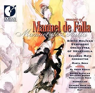 Falla, M. De: Amor Brujo (El) / 7 Canciones Populares Espanolas / Homenajes / El Sombrero De Tres Picos